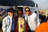 Arturo Merzario (sx) e Jimmy Ghione (dx). MERZARIO: pilota automobilistico italiano, che ha corso in tutte le discipline, dalle piccole turismo fino alla Formula 1. GHIONE: personaggio televisivo, attualmente inviato di Striscia la Notizia.