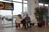 Ivan Capelli (dx):  pilota automobilistico italiano, di Formula 1. In particolare ha corso con Tyrrel, AGS, March, Ferrari nel  1992 e Jordan e attualmente è commentatore dei Gran Premi di Formula 1 per la Rai e presidente dell' Automobile Club Milano