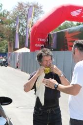 Graziano Rossi:  pilota motociclistico italiano, esordisce con una Suzuki nel Mondiale 500 del 1977 e nel 1979 ottiene il suo miglior piazzamento, 3°. Nello stesso anno nasce suo figlio, il più celebre Valentino Rossi.