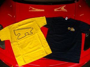 T-Shirt gialla Autodromo di Modena