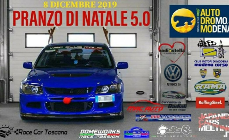 DECEMBER 8 - WRC CLUB ITALIA CHRISTMAS LUNCH