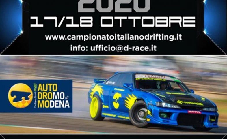 OCTOBER 17-18: TROFEO D'ITALIA DRIFTING 2020